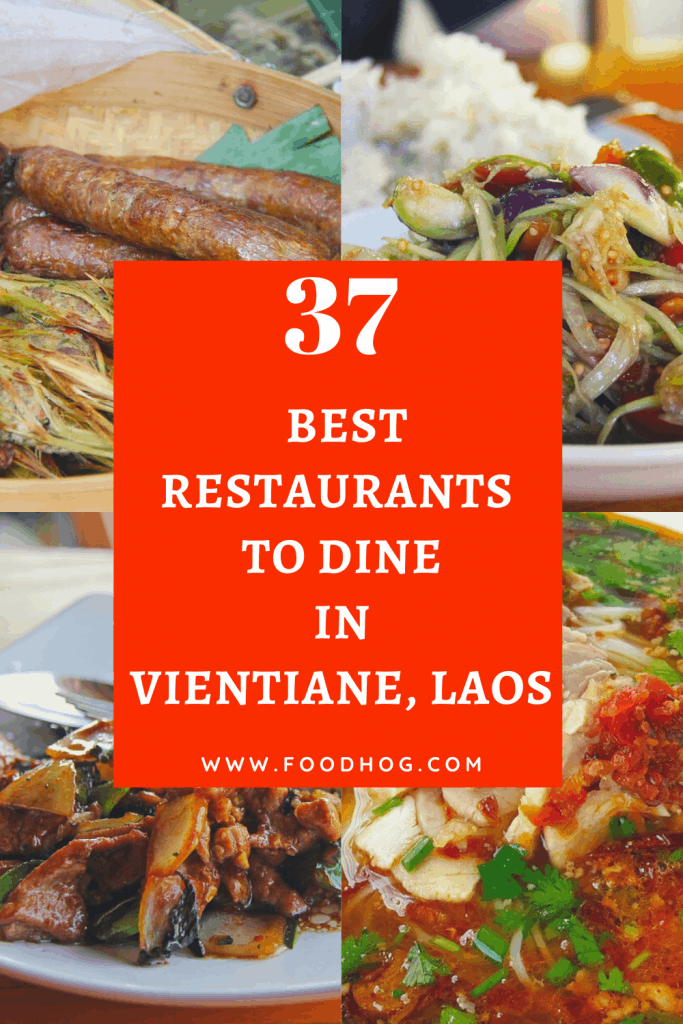 best restaurants in Vientiane Laos