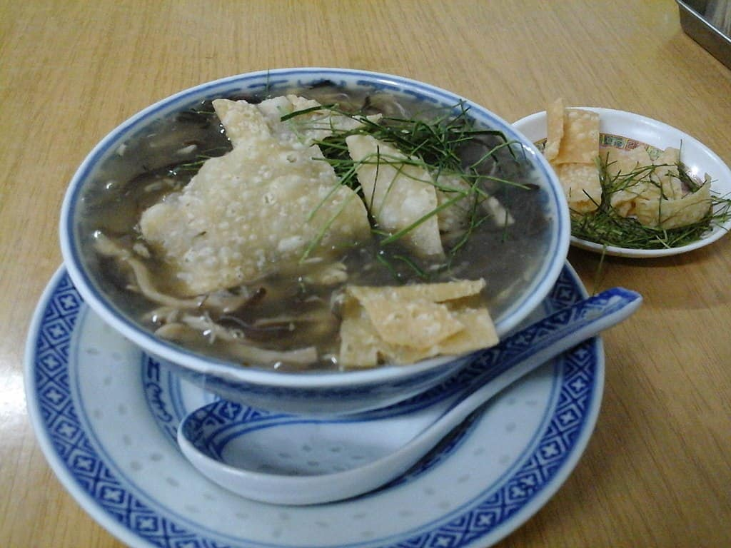 Snake Soup unusual food in asia