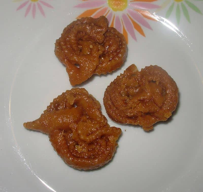Chebakia moroccan food