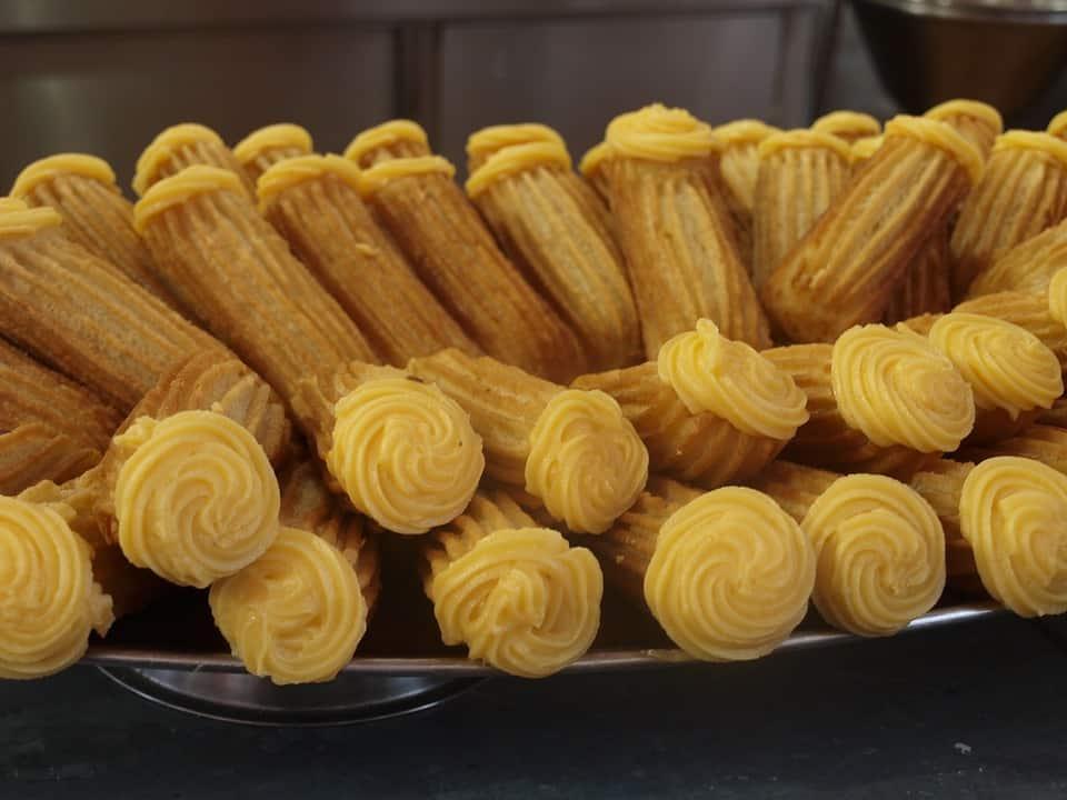 churros street food in europe