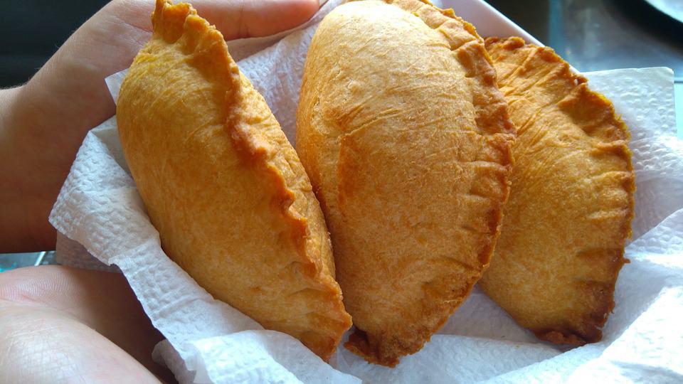 empanadas street food in europe