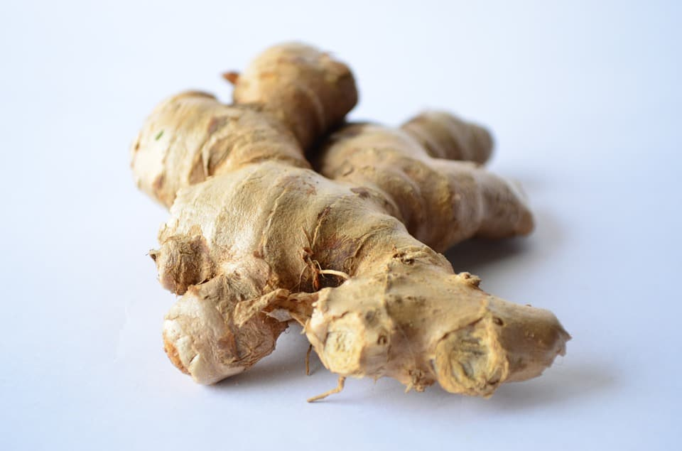raw ginger worst looking food