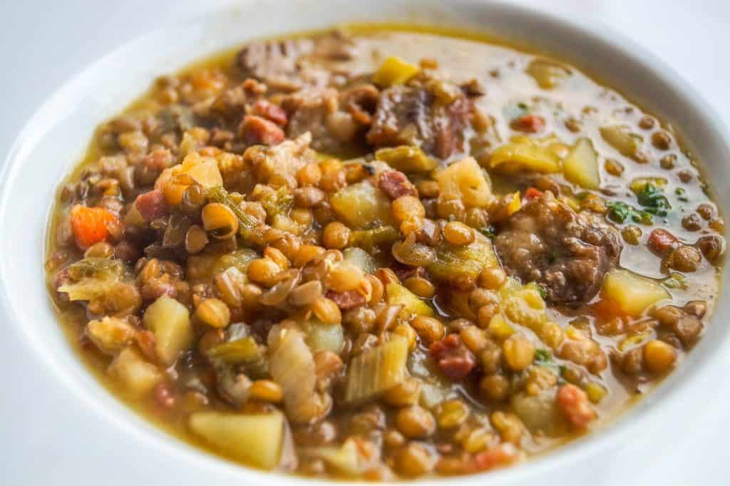 Morrocan Lentil soup