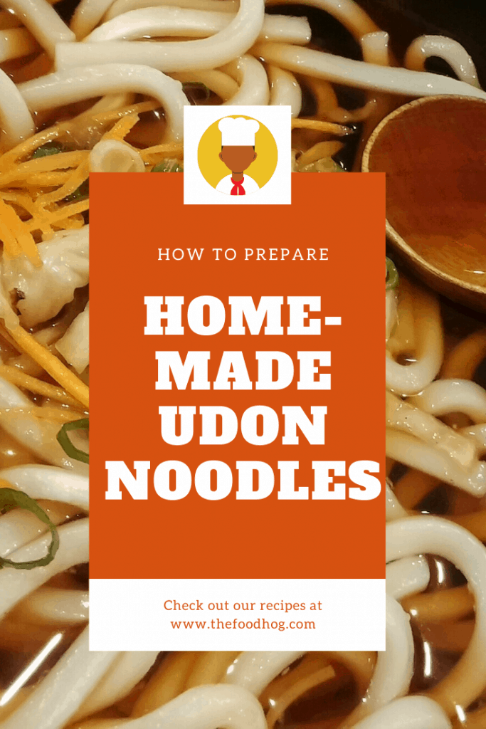 homemade udon noodles recipe