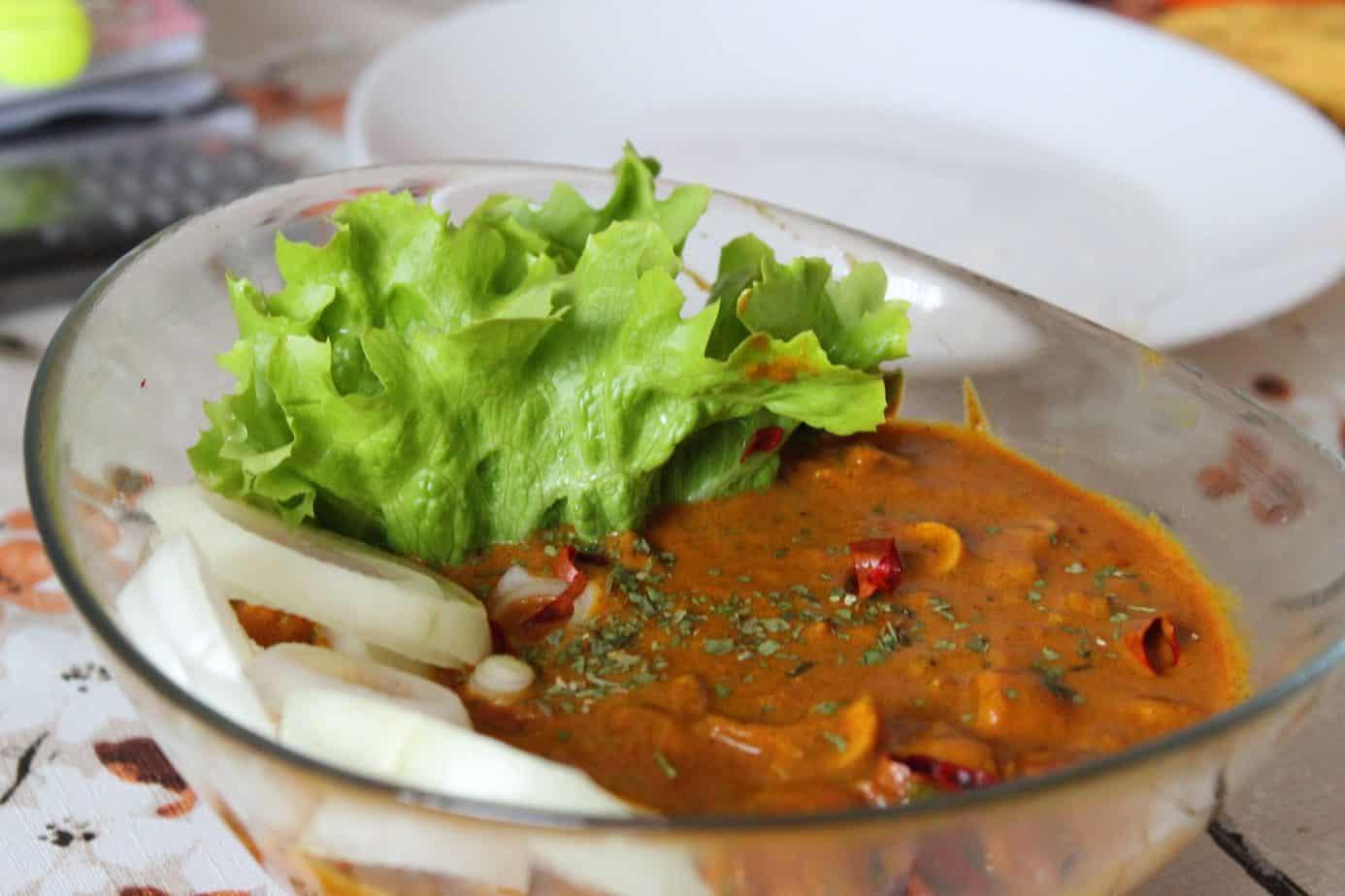 masala mushroom recipe