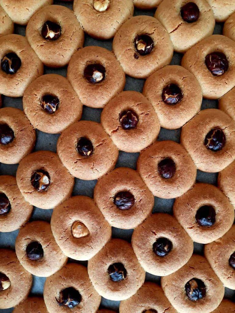 turkish semolina cookies