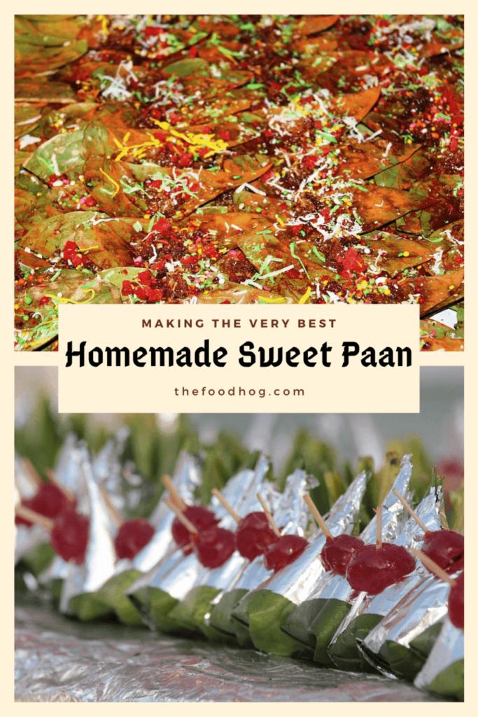 sweet paan recipe