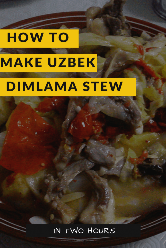uzbek dimlama stew